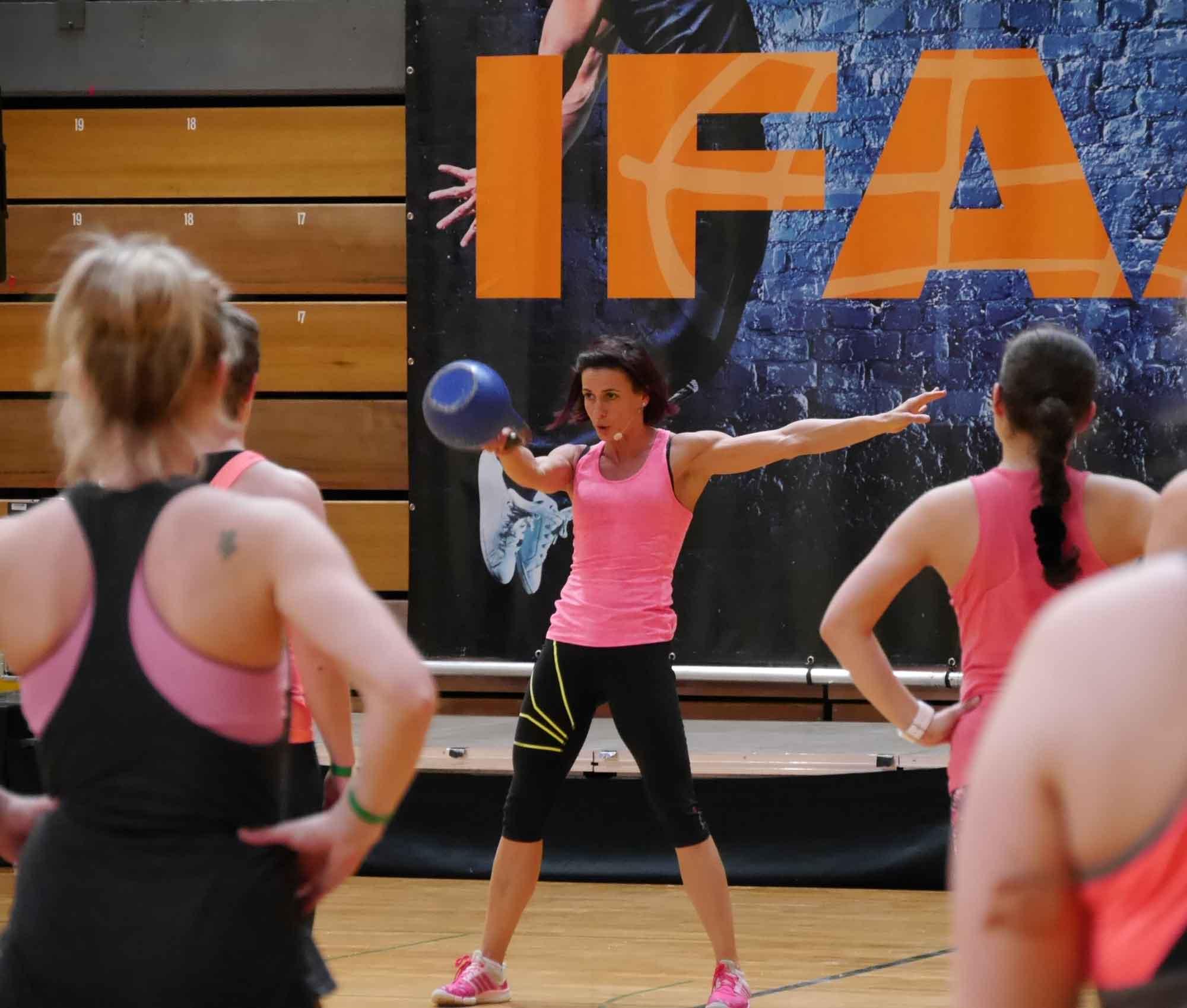 Eileen in action auf der IFAA